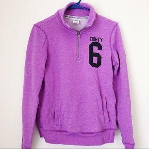 💜PINK VS Purple Eighty Six 86 Sweatshirt